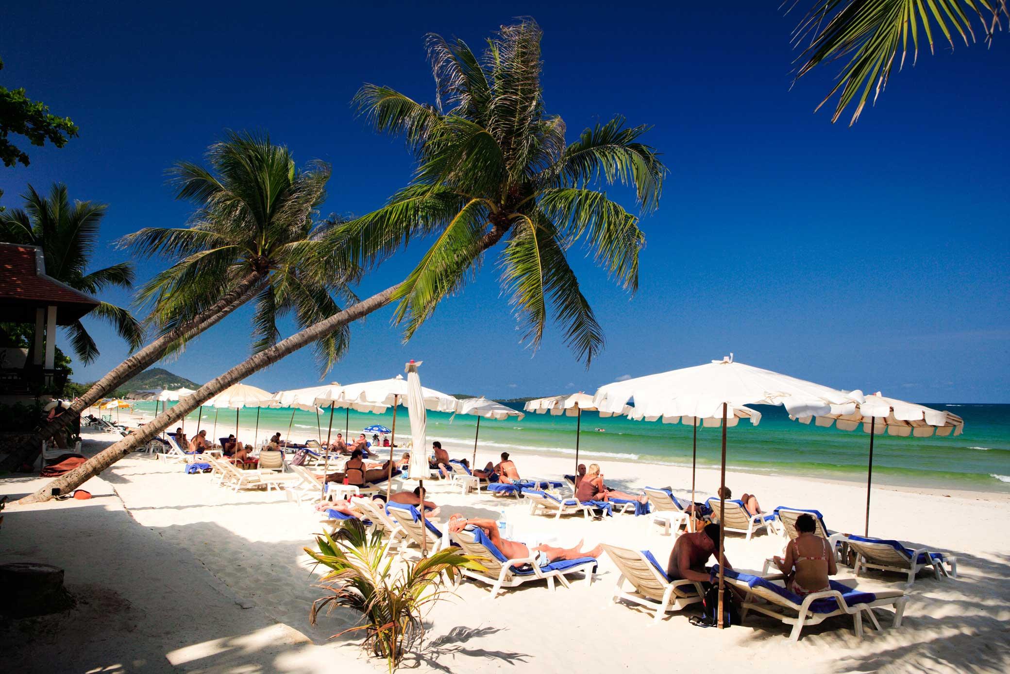 Чавенг - отличный пляж для семейного отдыха на Самуи
