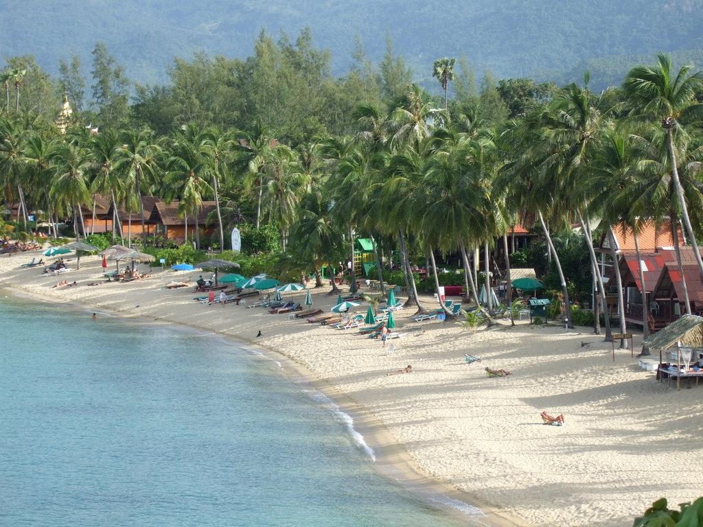 Маенам - один из лучших пляжей для плавания на Самуи