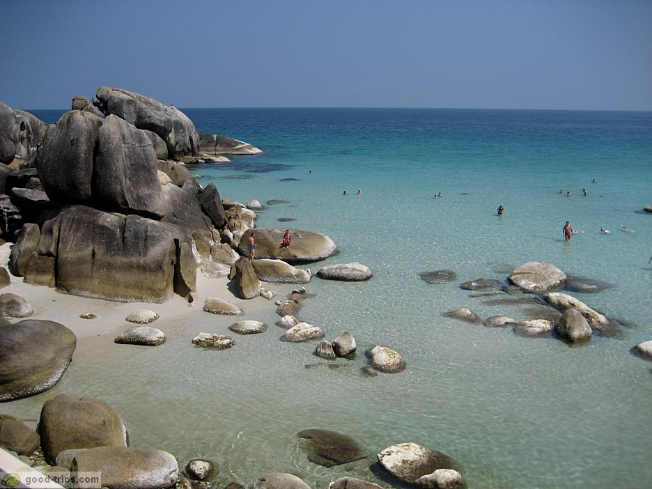 Thongtakian Beach - один из самых красивых пляжей Самуи