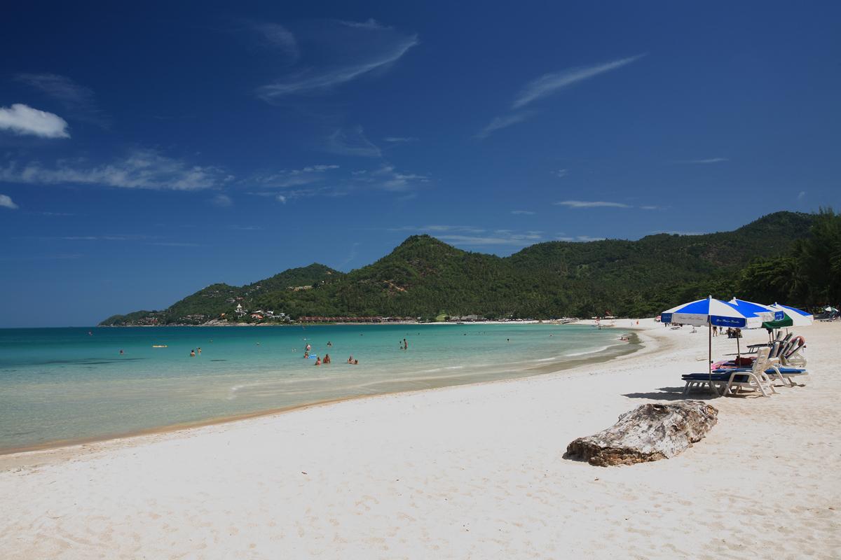 Чавенг - самый популярный и тусовый пляж Самуи