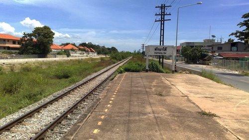 железнодорожная станция Паттайя Тай
