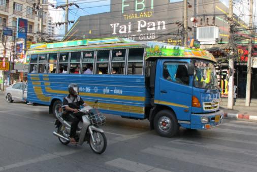 Общественные автобусы Пхукета